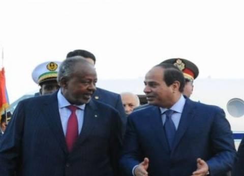 عاجل| الرئيس الجيبوتي: تطابق وجهات نظرنا مع مصر في القضايا العربية