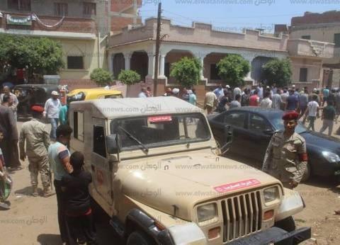 بالصور| القوات المسلحة تشارك في حملة لإزالة التعديات بكفر الشيخ