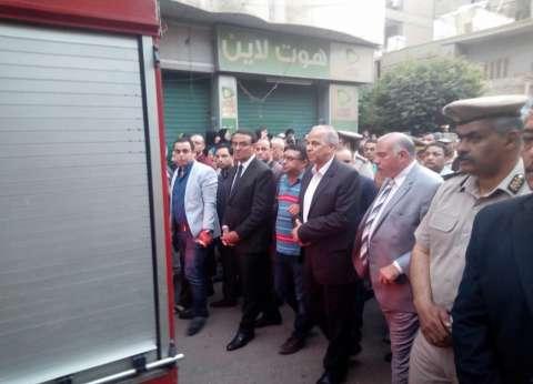المئات يشيعون جثمان الشهيد المقدم أحمد الخولي بشبرا الخيمة