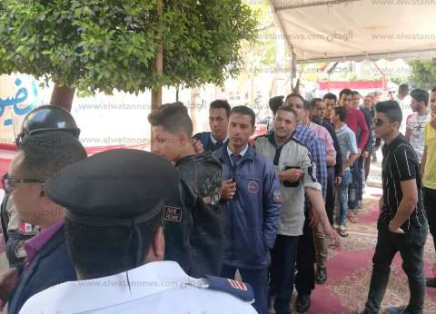 """استمرار توافد المغتربين على لجان لاستفتاء بـ""""الجبرتي"""" بمساكن شيراتون"""