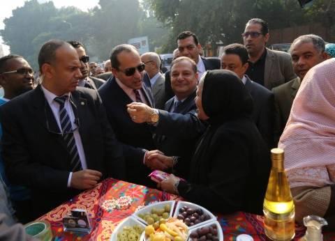 وزير الزراعة يفتتح مهرجان خفض أسعار السلع
