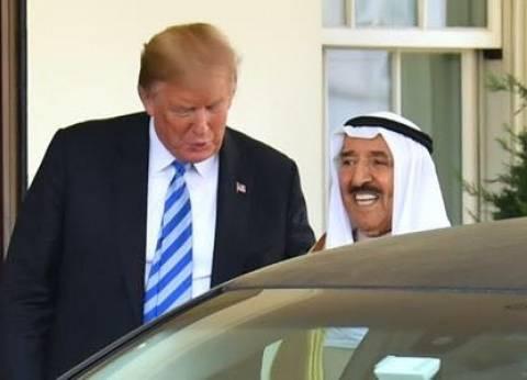 أمير الكويت والرئيس الأمريكي يعقدان مباحثات رسمية في البيت الأبيض