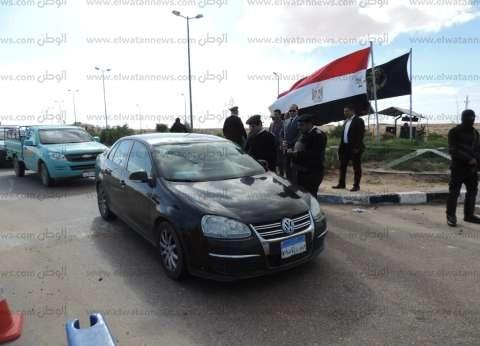 الإسماعيلية تحتفل بعيد الشرطة بموكب للسيارات