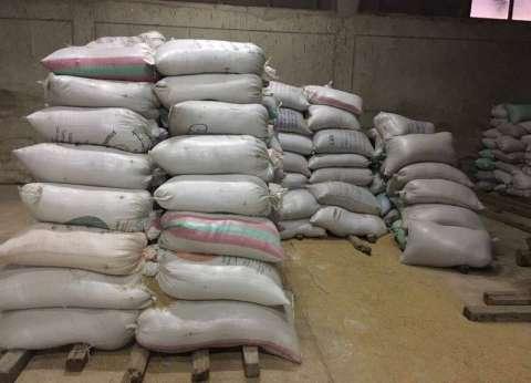 ضبط 65 طن أرز شعير قبل بيعها بالسوق السوداء في القاهرة وكفر الشيخ والشرقية