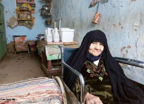 """والدة شهيد في """"حرب أكتوبر"""" عمرها 95 عاما تسعى للحصول على مأوى.. ومحليات الخارجة ترفض"""