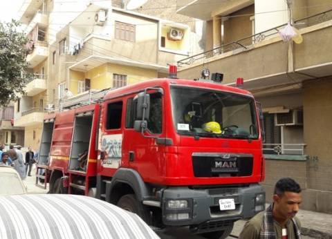 السيطرة على حريق شب في شقة سكنية بالدقي