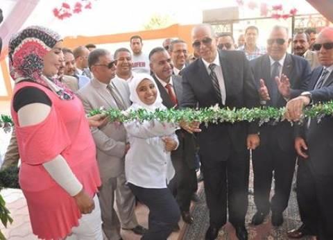 افتتاح مدرسة الشعراوي الثانوية للبنات بمدينة الخارجة بتكلفة 3.1 مليون جنيه
