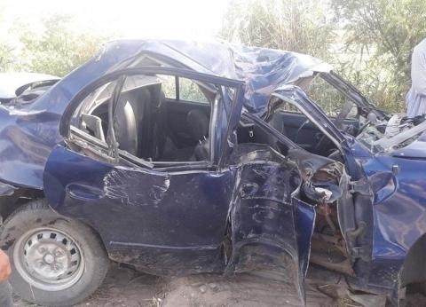 مصرع مدير مدرسة ومعلم في حادث تصادم بسوهاج
