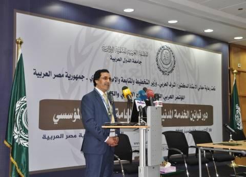 """""""القحطاني"""": أتطلع للخروج بتوصيات فاعلة من مؤتمر """"الإصلاح الإداري والتنمية"""""""