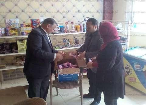25 محضر مخالفات بيئية وتموينية في مدينة الطور