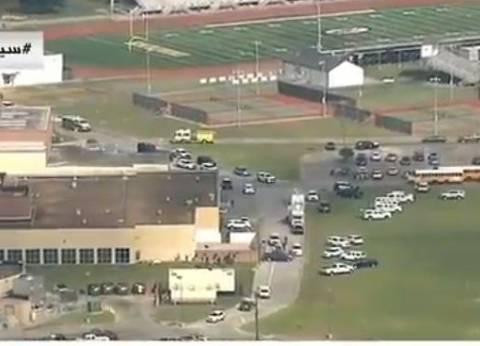 بث مباشر| الشرطة الأمريكية تطوق موقع إطلاق نار داخل مدرسة بتكساس