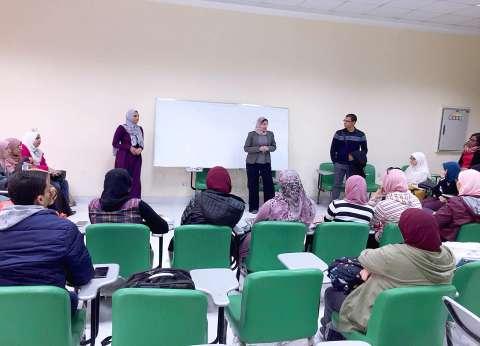بالصور| جامعة القاهرة تطلق مبادرة لدمج الطلاب ذوي الإعاقة السمعية