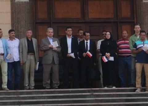رئيس جامعة بني سويف يشهد حفل استقبال الطلاب الجدد
