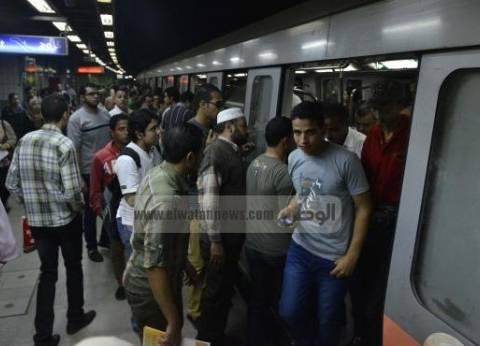 ضبط 17 قضية جنائية في مترو الأنفاق و70 بائعا