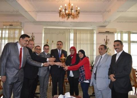جامعة المنصورة تحصد المراكز الأولى بمسابقة المحاكمة الصورية في القانون الدولي