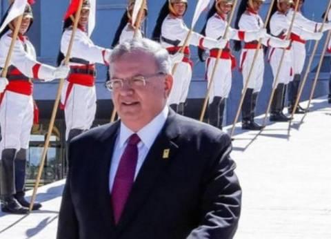 الرئيس اليوناني والأمين العام لمجلس التعاون يبحثان تطوير العلاقات