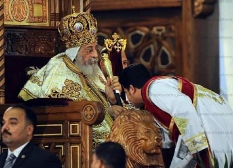 البابا تواضروس بقداس عيد القيامة: هناك من يصنع الألم وأخر يزرع الأمل