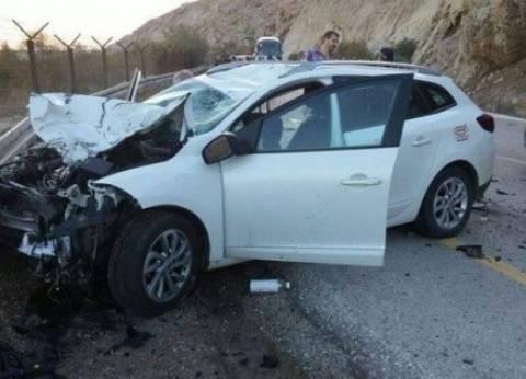 مصرع مزارع وإصابة 9 انقلبت بهم سيارة في المنيا