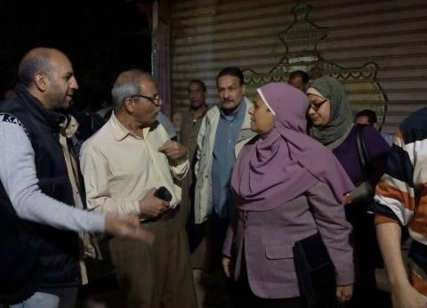 غادة والي توجه بتقديم الدعم لسكان عقار السيدة زينب المنهار
