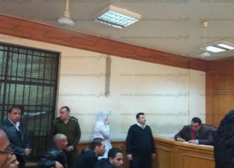 بدء جلسة استئناف 17 أمين شرطة بالسياحة على حكم حبسهم عامين