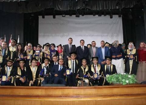 جامعة بني سويف تحتفل بتخريج دفعة ثانية من كلية الحاسبات والمعلومات