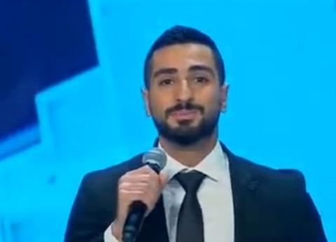 """الشرنوبي يغني """"جامع وكنيسة"""" في افتتاح """"الفتاح العليم""""و""""ميلاد المسيح"""""""