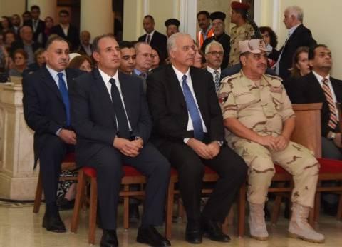 محافظ الإسكندرية يحضر احتفالية مرور 10 سنوات على تطوير مبنى البطريركية