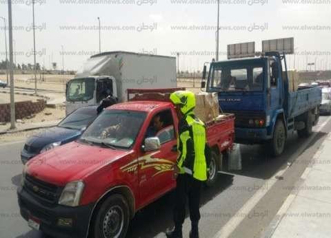 ضبط سائق من أصل 11 ثبت تعاطيهم للمخدرات في حملة بمطروح