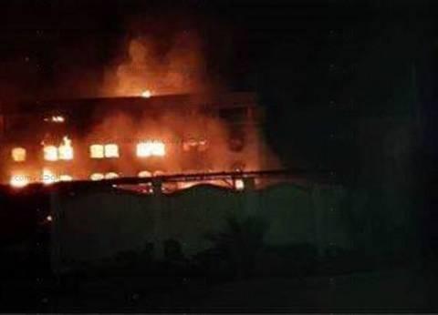 عاجل  إصابة 6 أشخاص في حريق اندلع في 8 منازل بأسيوط
