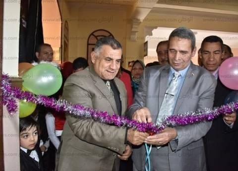 افتتاح مسرح مدرسة عمر مكرم الثانوية بنين بدمنهور