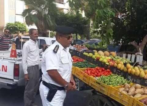 """حملة لرفع التعديات بـ""""سموحة"""" شرق الإسكندرية"""