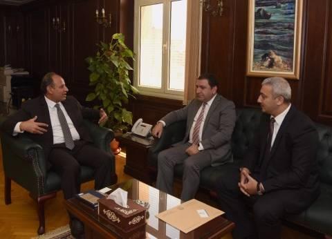 محافظ الإسكندرية يستقبل سفير أذربيجان لتوقيع اتفاقية تآخي بين الجانبين