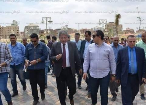 """وزير الرياضة يكرم قدامى """"المصري"""" الراحلين في نهائي """"دوري الشباب"""""""