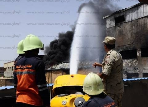 إصابة 4 عمال صيانة في حريق نشب بأحد المراكز الطبية بوسط الإسكندرية