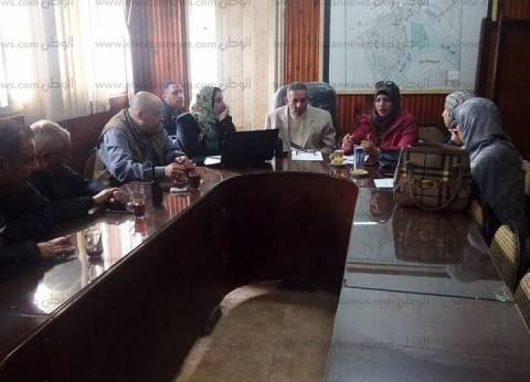 """الصور  """"التنمية الاقتصادية"""" بكفر الشيخ تناقش الخطة المستقبليةبـ""""فوة"""""""