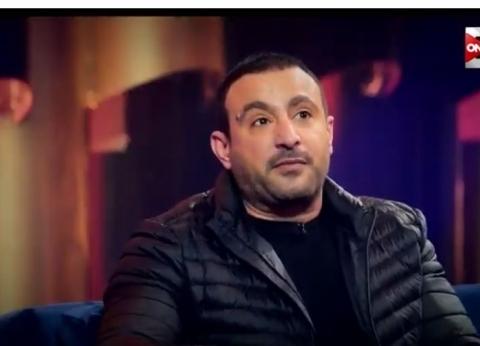 أحمد السقا وفاروق الفيشاوي يقدمان واجب العزاء في عزت أبو عوف