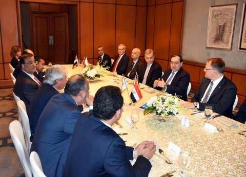 """""""الملا"""" يلتقي رئيس الغرفة الألمانية العربية للصناعة والتجارة"""