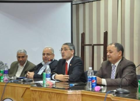 """""""الصيدلة الإكلينيكية ودورها بالمجتمع"""" في مؤتمر علمي بجامعة المنيا"""