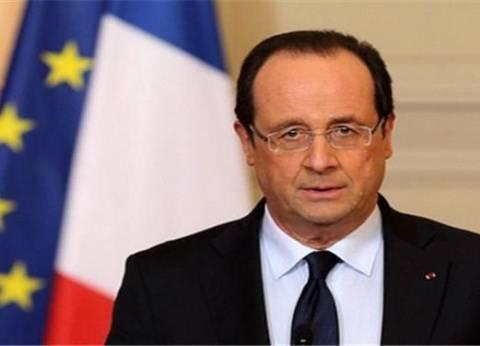 عاجل| الرئيس الفرنسي يصل إلى مقر مجلس النواب