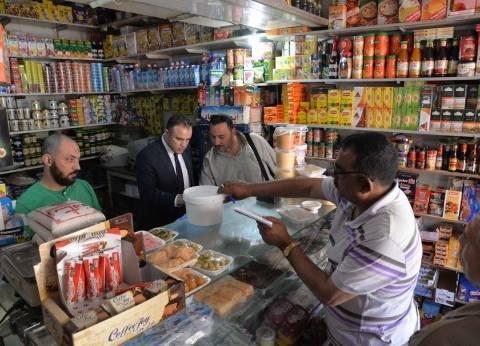 أمن الإسكندرية يضبط مخزن للسلع الغذائية يحتوي على سلع مجهولة المصدر
