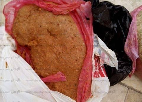 ضبط 42 كيلوجراما لحوم وكبدة فاسدة في حملة تموينية مكبرة بكفر الشيخ