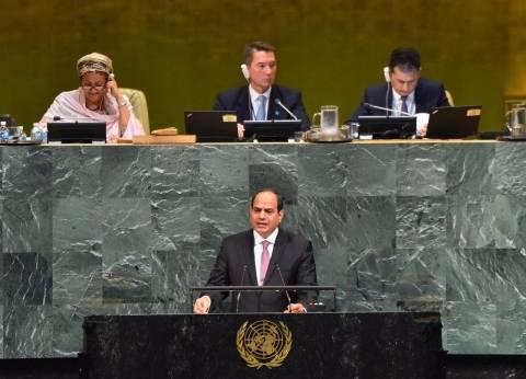 """""""السيسي"""": التوافق سبيل الخروج من الأزمة السياسية في ليبيا"""