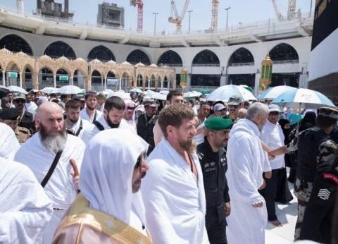 الرئيس الشيشاني رمضان قاديروف يؤدي مناسك الحج بدعوة من الملك سلمان
