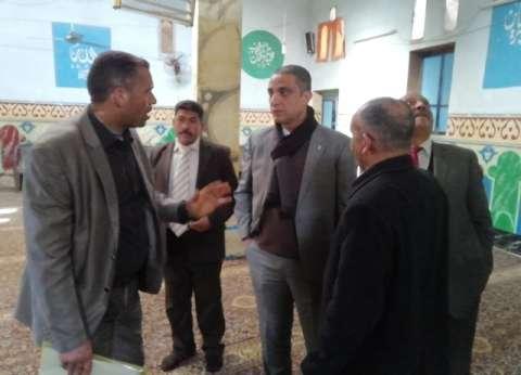 """محافظ سوهاج يبحث احتياجات قرية سعد الله ضمن مبادرة """"حياة كريمة"""""""
