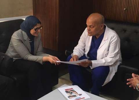 وزيرة الصحة: تذليل العقبات المواجهة لمؤسسة مجدي يعقوب