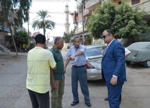 بالصور| مساعد محافظ كفر الشيخ يبحث مشكلة طريق شنو مع المقاولات المصرية