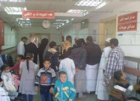 قافلة جامعة الإسكندرية تجري 22 عملية لمواطنين بمستشفى مطروح العام