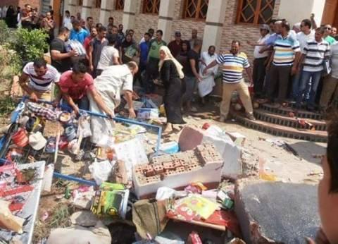 حي المنتزة أول بالإسكندرية يشن حملة لإزالة التعديات بالأسواق