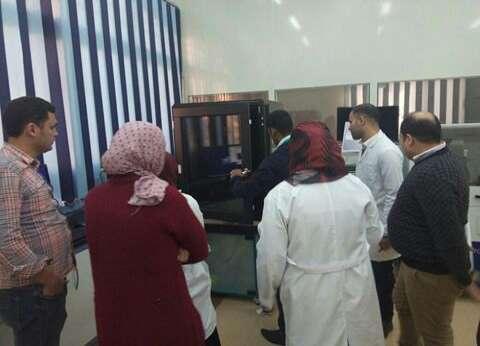 جامعة كفر الشيخ تزود معهد علوم وتكنولوجيا النانو بمجهر القوى الذرية