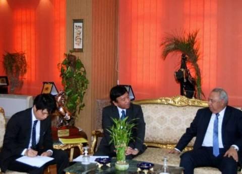 محافظ الشرقية يستقبل السفير الياباني لمناقشة تجربتهم في التعليم